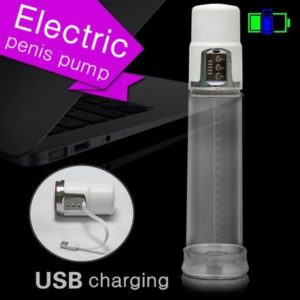 USB Chargable Electric Penis Enlarger- Ejaculation Pump-product of delhisextoystore