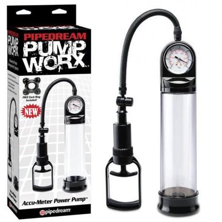 Worx Accu-Meter Power Penis Enlargement Pump-product of delhisextoystore