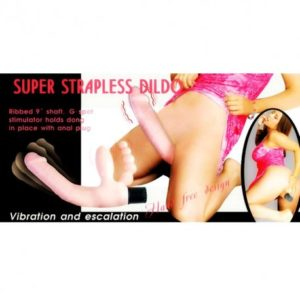 Super Strapless Dildo Vibration And Escalation-products of delhisextoystore