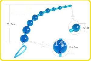Anal Beads blue 7 beads -product of delhisextoystore