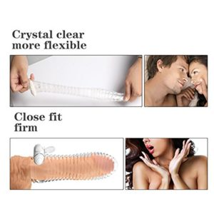 How to use Crystal Reusable Vibrating Engarement & Extension Sleeve Condom-product of delhisextoystore